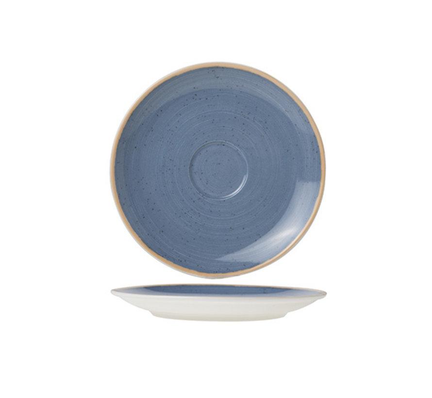 Cosy & Trendy Terra blauwe schotel 16cm, 1 stuk