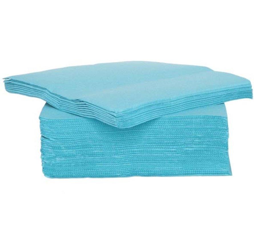 Cosy & Trendy Ct Prof Servet Tt S40 38X38Cm Turquoise, 40 stuks