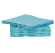 Cosy & Trendy Cosy & Trendy Ct Prof Servet Tt S40 25X25Cm Turquoise, 40 stuks