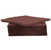 Cosy & Trendy Cosy & Trendy Ct Prof Servet Tt S40 38X38Cm Chocolat, 40 stuks