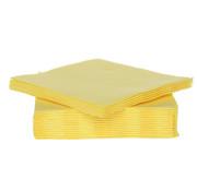Cosy & Trendy Cosy & Trendy Ct Prof Servet Tt S40 25X25Cm Geel, 40 stuks