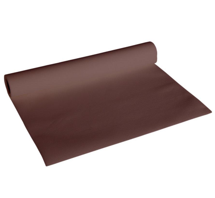 Cosy & Trendy Ct Prof Tafelloper Chocolat 0,4 x 4,8 meter