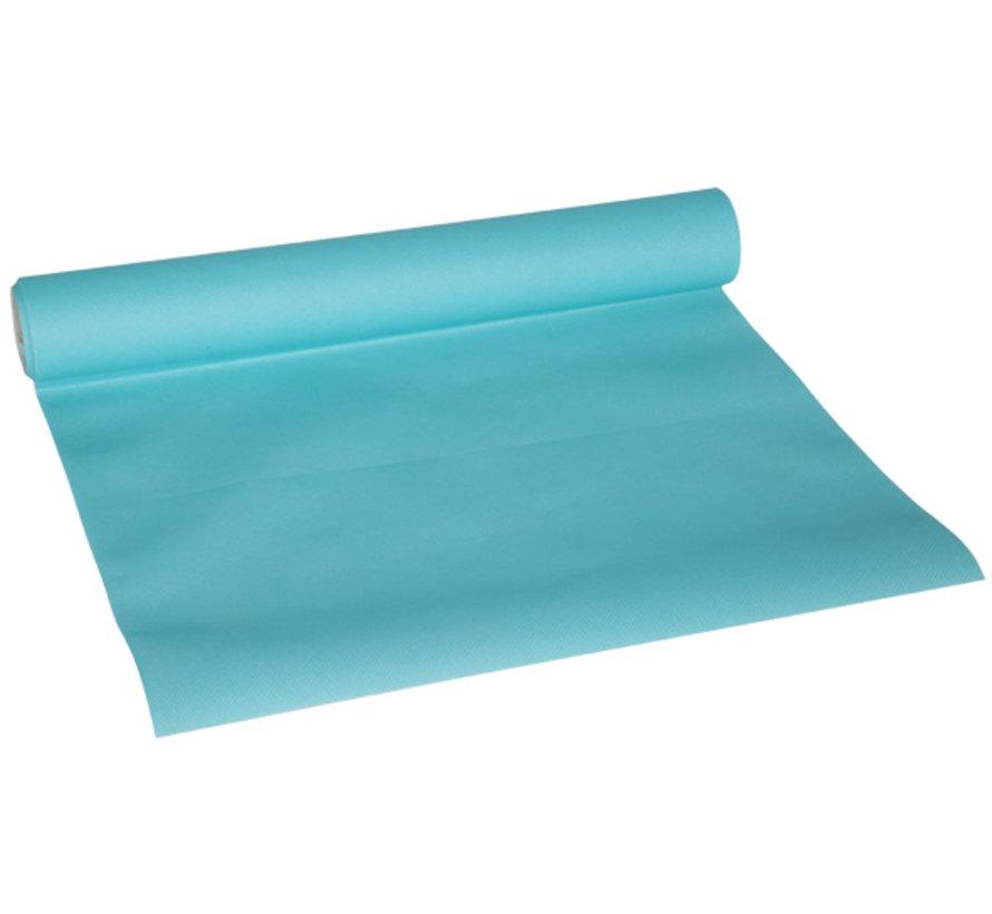 Cosy & Trendy Ct Prof Tafelloper Turquoise 0,4 x 4,8 meter
