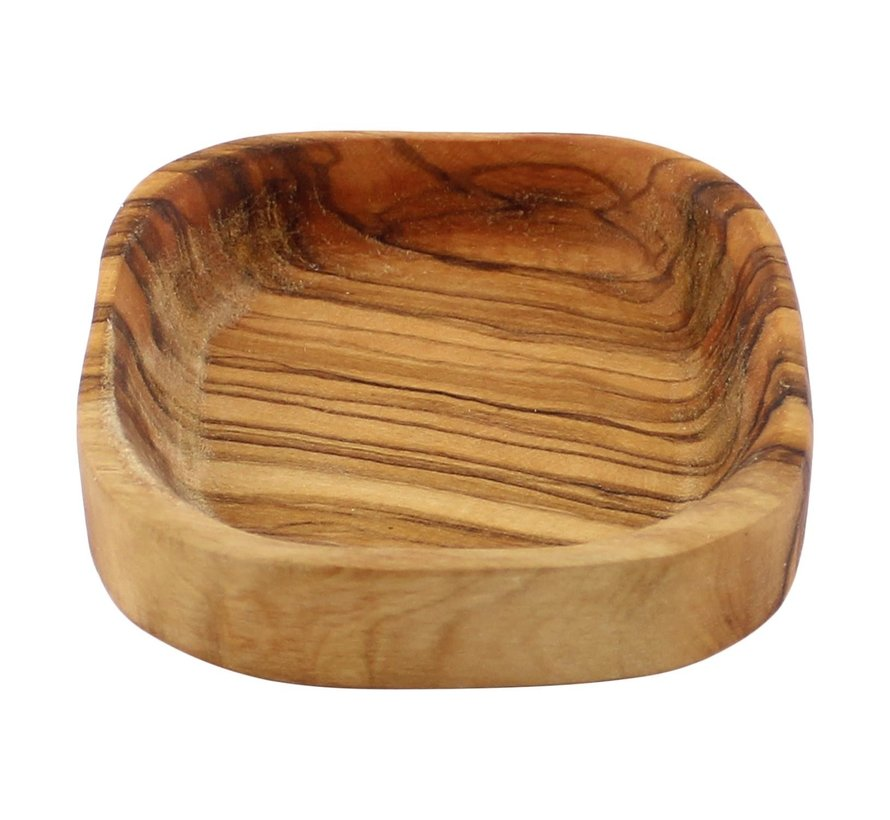 Bowl&Dishe Schaal van olijfhout, laag 10 cm, 1 stuk