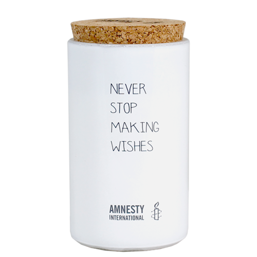 SOY CANDLE - NEVER STOP MAKING WISHES