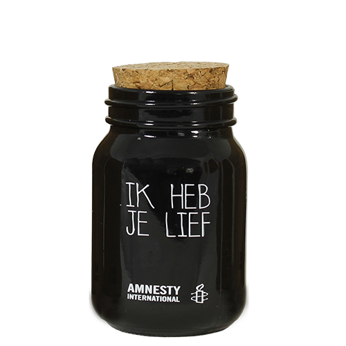 SOY CANDLE - IK HEB JE LIEF