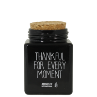 My Flame Lifestyle SOY CANDLE - THANKFUL FOR EVERY MOMENT - SCENT: WARM CASHMERE