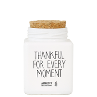 My Flame Lifestyle SOJAKAARS - THANKFUL FOR EVERY MOMENT - GEUR: FRESH COTTON