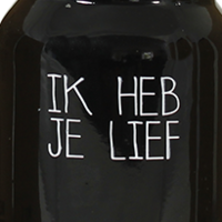 My Flame Lifestyle SOY CANDLE - IK HEB JE LIEF - SCENT: WARM CASHMERE