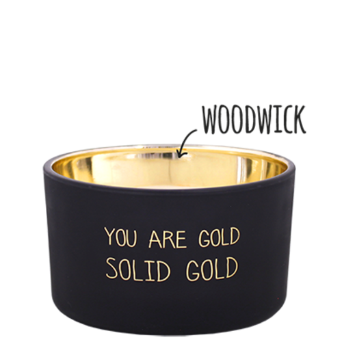 SOY CANDLE - YOU ARE GOLD