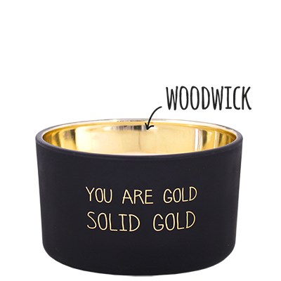 My Flame Lifestyle SOJAKAARS - YOU ARE GOLD - GEUR: WARM CASHMERE