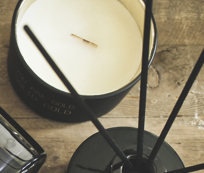 My Flame Lifestyle SOY CANDLE - YOU ARE GOLD - SCENT: WARM CASHMERE