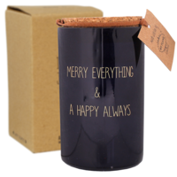 My Flame Lifestyle SOY CANDLE - MERRY EVERYTHING - SCENT: WINTER GLOW