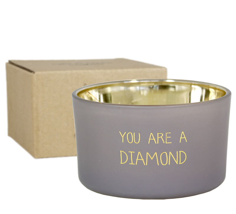 My Flame Lifestyle SOJAKAARS - YOU ARE A DIAMOND - GEUR: AMBER'S SECRET