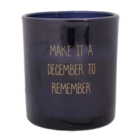 My Flame Lifestyle SOY CANDLE - DECEMBER TO REMEMBER - SCENT: WINTER GLOW