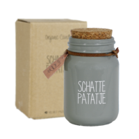 My Flame Lifestyle SOJAKAARS - SCHATTEPATAJE - GEUR: MINTY BAMBOO