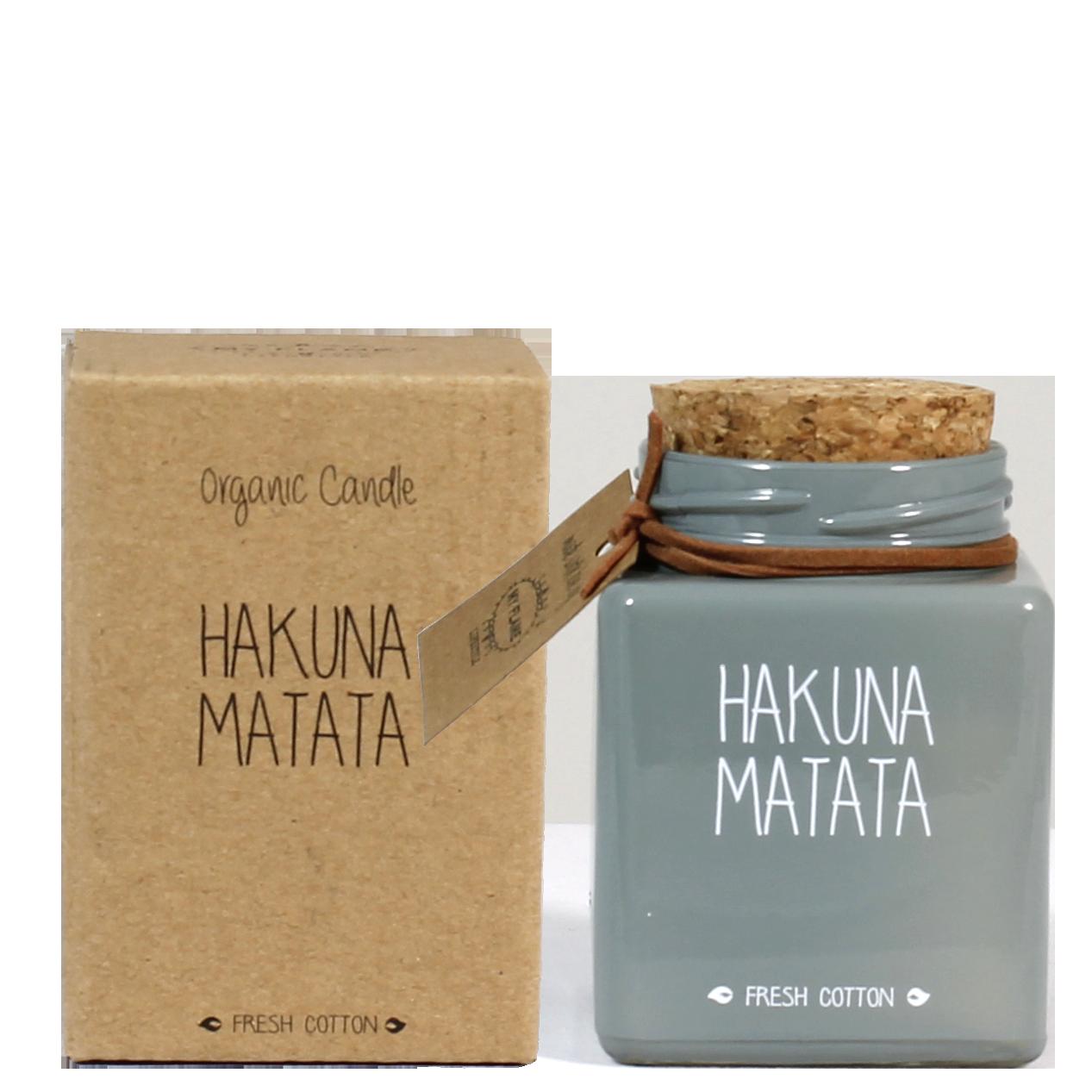 My Flame Lifestyle SOJAKAARS - HAKUNA MATATA - GEUR: MINTY BAMBOO