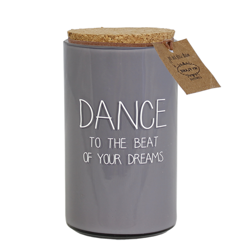 SOY CANDLE - DANCE TO THE BEAT