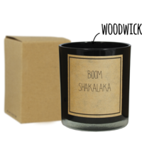 My Flame Lifestyle SOJAKAARS - BOOMSHAKALAKA - GEUR: WARM CASHMERE
