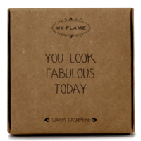 My Flame Lifestyle SCENTED HANGER - YOU LOOK FABULOUS - SCENT: WARM CASHMERE