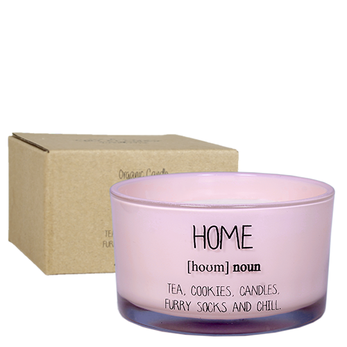 My Flame Lifestyle SOY CANDLE - HOME - SCENT: GREEN TEA TIME