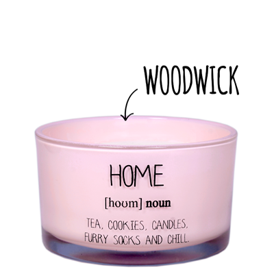 My Flame Lifestyle SOY CANDLE - HOME - SCENT: GREEN TE TIME