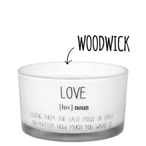 SOY CANDLE - SCENT: FRESH COTTON