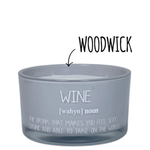 SOY CANDLE - WINE