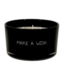 My Flame Lifestyle SOJAKAARS - MAKE A WISH - GEUR: WARM CASHMERE