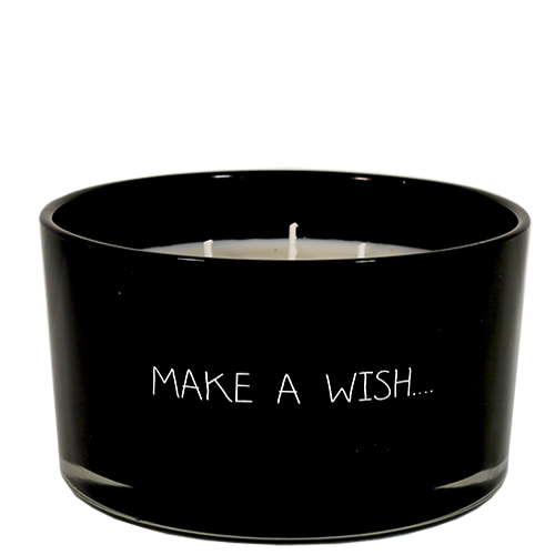 My Flame Lifestyle SOY CANDLE - MAKE A WISH - SCENT: WARM CASHMERE