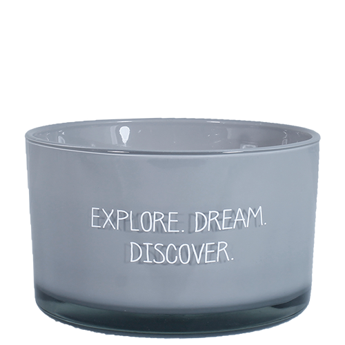 SOY CANDLE - EXPLORE DREAM DISCOVER