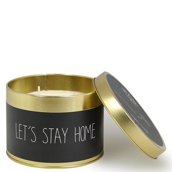 My Flame Lifestyle SOJAKAARS - LET'S STAY HOME - GEUR: WARM CASHMERE