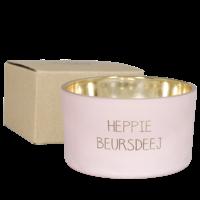 My Flame Lifestyle SOJAKAARS - HEPPIE BERUSDEEJ - GEUR: GREEN TEA TIME