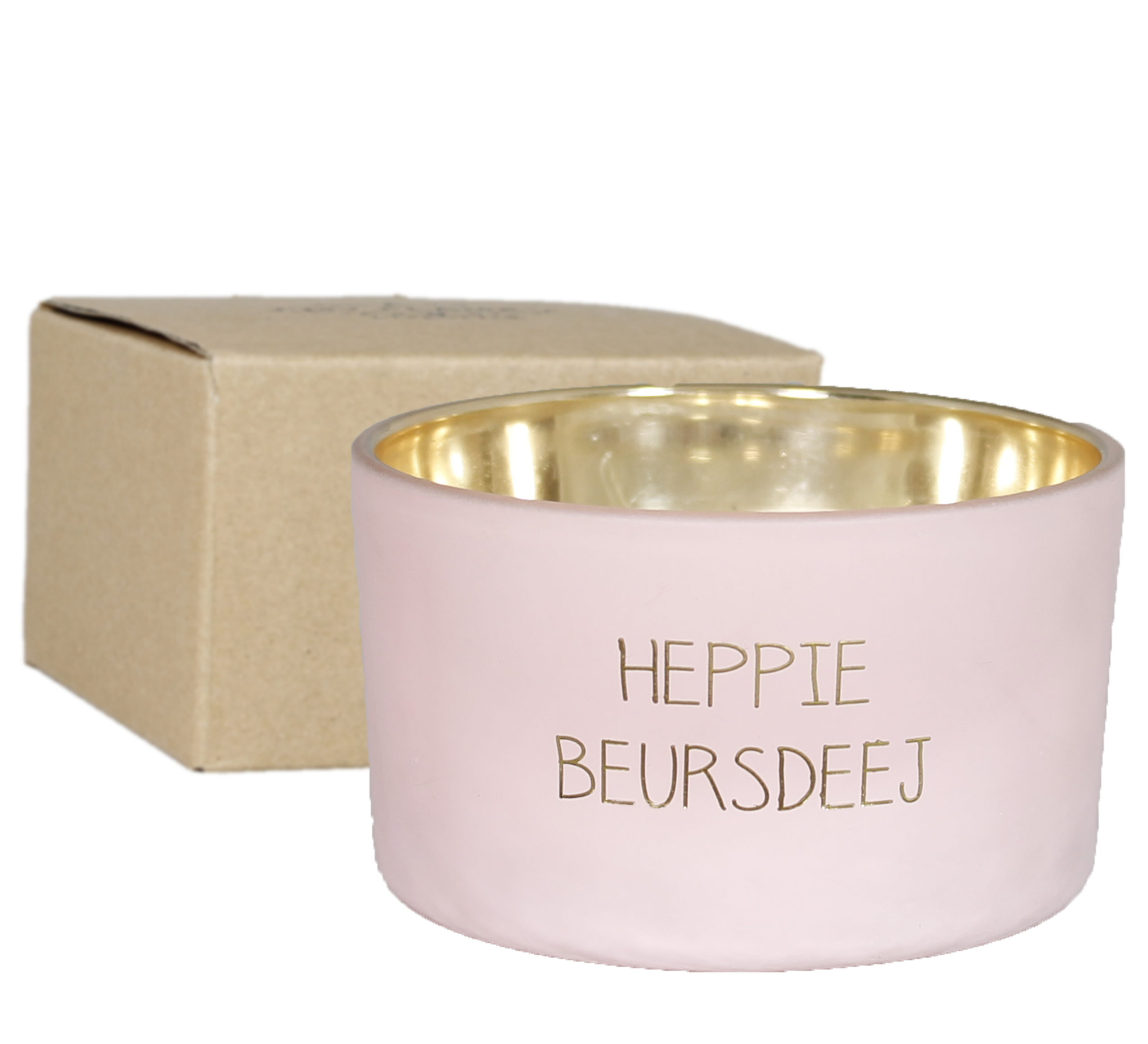 My Flame Lifestyle SOY CANDLE - HEPPIE BEURSDEEJ - SCENT: GREEN TEA TIME