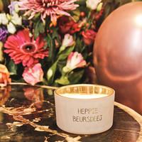 My Flame Lifestyle SOJAKAARS - HEPPIE BEURSDEEJ - GEUR: GREEN TEA TIME