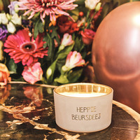 My Flame Lifestyle SOY CANDLE - HEPPIE BERUSDEEJ - SCENT: GREEN TEA TIME