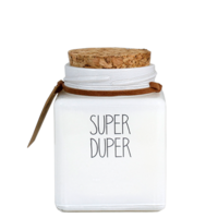 My Flame Lifestyle SOJAKAARS - SUPER DUPER - GEUR: FRESH COTTON