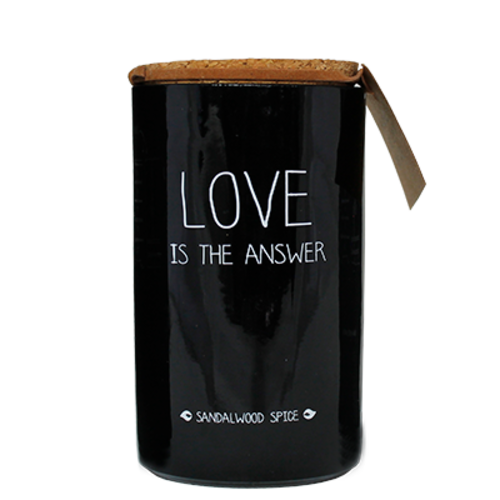 SOY CANDLE - LOVE IS THE ANSWER