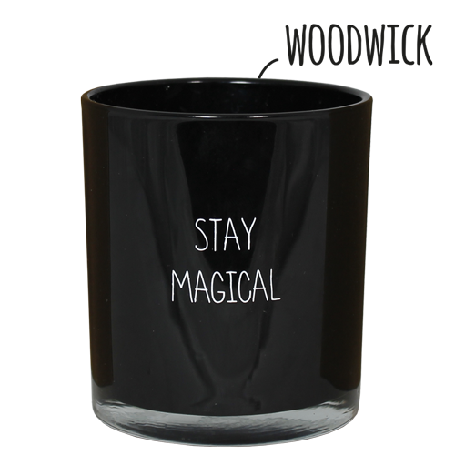 My Flame Lifestyle SOJAKAARS - STAY MAGICAL - GEUR: WARM CASHMERE