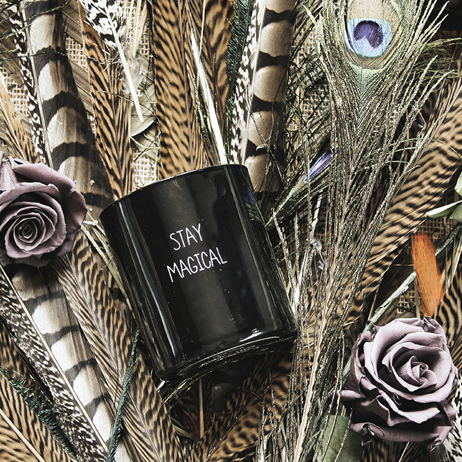 SOY - CANDLE - STAY MAGICAL - SCENT: WARM CASHMERE