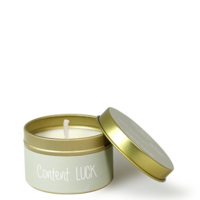 My Flame Lifestyle SOJAKAARS XS - CONTENT: LUCK  - GEUR: MINTY BAMBOO