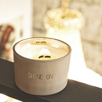 My Flame Lifestyle SOY CANDLE - SHINE ON - SCENT: FIG'S DELIGHT