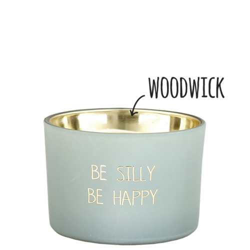 SOY CANDLE - BE SILLY BE HAPPY