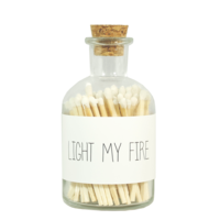 My Flame Lifestyle LUCIFERS - WIT - LIGHT MY FIRE