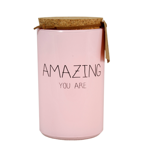 SOY CANDLE - AMAZING YOU ARE