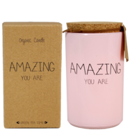 My Flame Lifestyle SOJAKAARS - AMAZING YOU ARE - GEUR: GREEN TEA TIME