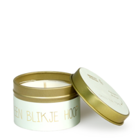 My Flame Lifestyle SOY CANDLE - EEN BLIKJE HOOP - SCENT: GREEN TEA TIME