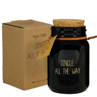 My Flame Lifestyle SOY CANDLE - JINGLE ALL THE WAY - SCENT: WINTER GLOW