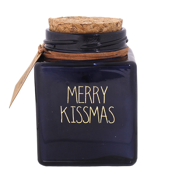 My Flame Lifestyle SOY CANDLE - MERRY KISSMAS - SCENT: WINTER GLOW