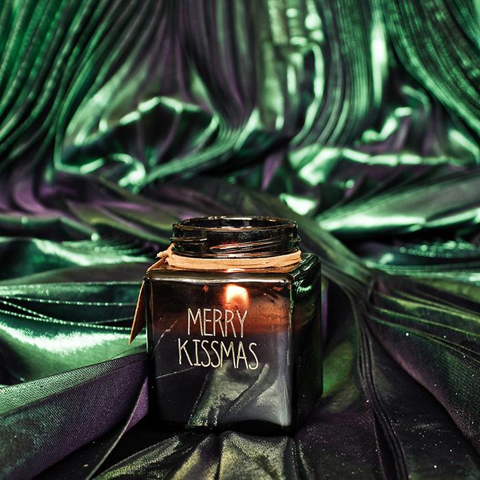 My Flame Lifestyle SOJAKAARS - MERRY KISSMAS - GEUR: WINTER GLOW